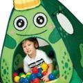 Calida Дом + 100 шаров Царевна-лягушка 95х95х90см